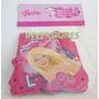 Cartel-cadena-banner Para Fiesta Infantiles Barbie