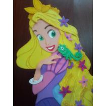 Rapunzel Y Sus Amigos Enredados Figuras De Foami De 80cm