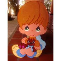 Figura Para Baby Shower Nacimiento Baby Boy Niño Bebè .
