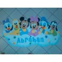 Letreros, Carteles, Banner Mickey Mouse Bebe Foami