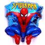 Globos Metalizados De Spiderman 80cm Somos Tienda Fisica