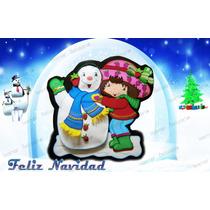 Navidad Foami Decoración Fresita Y Más Decoración Navidadeña