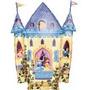 Globos Metalizados De Castillos Princesas Disney 30 Cm