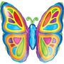 Globos Metalizados De Flores ,abeja,mariposa,hongo