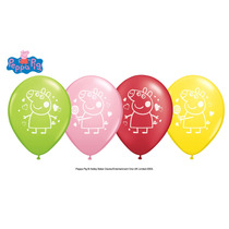 Globo De Latex R12 Mickey, Dra.juguete, Toy Story, Peppa Pig