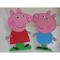 Figuras De Peppa Pig Anime Y Foami Decorar Fiestas