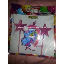 Vela De Cumpleaños Pony Mariquita Ladybug Mickey Cotillon