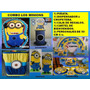 Combo Fiesta Minions Cars Mickey Vengadores Toy Story
