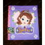 Princesa Sofia Carpeta Decorada -niñas - Disney Violeta