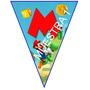 Banderines Mario Bros