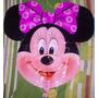 Globo Metalizado 70cm 27 Pulgadas Cabeza Minnie Mickey
