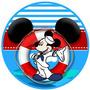 Kit Imprimible Mickey Marinero Fiesta Naval 2x1