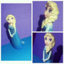 Tope De Torta,cumpleaños Infantil Frozen Elsa Masa Flexible