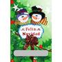 Navidad Foami.muñecos De Nieve-pareja--decoración--colegio
