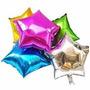 Globos Metalizados De Estrellas, Amor Y Cumpleaños