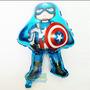 Globo Metalizado Capitán América