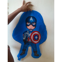 Globos Metalizados Capitan America Iron Man Toy Story