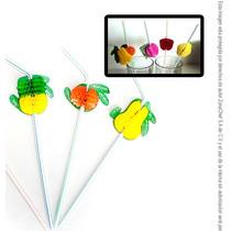 Pitillos Decorativos Para Tus Cocteles Caja De 60 Unidades