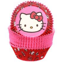 Capacillos Para Ponquesitos (cupcake) Hello Kitty X50