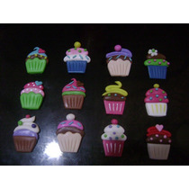 Cupcakes En Masa Flexible