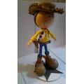 Centro De Mesa Fofucha 3d Foami Woody Dora Rapunzel