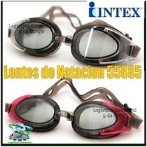Lentes De Natacion Niños Adultos 55685 Piscina Playa Intex