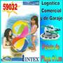 Pelota Inflable Playa Piscina Niños Intex 59032 61cm Diametr