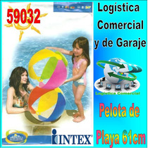 Pelota Inflable Playa Piscina Niños Intex 59032 61cm Diametr