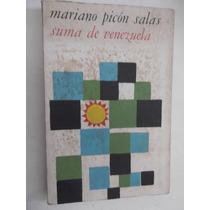 Suma De Venezuela Mariano Picon Salas Edicion 1966