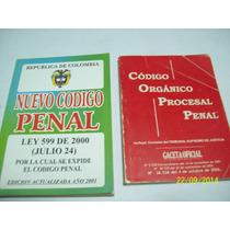 Libro:codigo Organico Procesal Penal-venezolano Y Colombiano