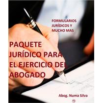 Paquete Jurídico De Ejercicio Del Abogado