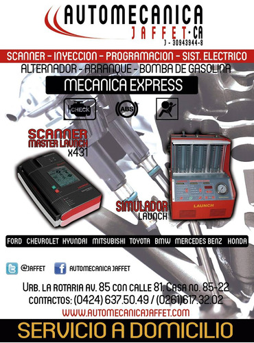 Diagnostico Con Scanner Multimarca Y Servicio De Inyección