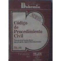 Código De Procedimiento Civil 1986 Lrb