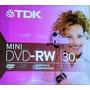 Mini Dvd-rw 30 Min (combo De 5)