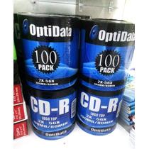 Cd -r Optidata X 100 Und.