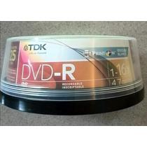 Estuche De Cds Dvd-r 1-16x 4.7gb. Cantidad: 13