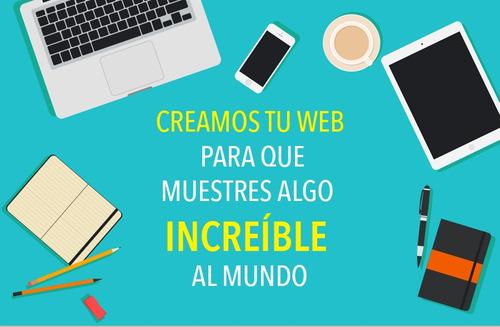 Diseño De Paginas Web Para Tu Empresa O Negocio Desde