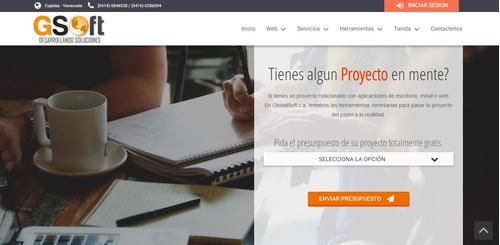 Diseño | Desarrollo | Paginas Web | Sistemas | Tiena Online