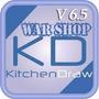 Kitchendraw 6.5 + Cargador De Horas + Asesoria Post Compra
