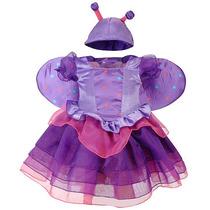 Hermoso Disfraz De Mariposa Talla 24 Meses, Importado!