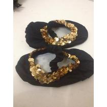 Disfraz Zapatilla De Bailarina Negro Para Niña T 0-1
