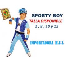 Disfraz Sporty Boy