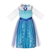 Difraz Frozen Ana Elsa Marca Disney Original Talla 4-6x