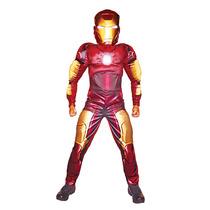 Disfraz De Iron Man Carnavalito Origianal