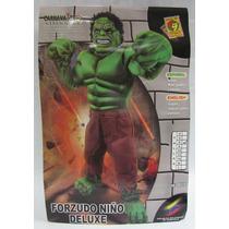 Disfraz De Hulk Carnavalito Origianal