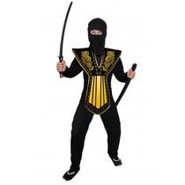 Disfraz De Samurai Carnavalito Origianal