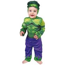 Disfraz De Hulk Bebe Carnavalito Origianal