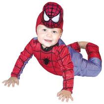 Disfraz Del Hombre Araña Bebe Carnavalito Origianal