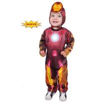 Disfraz De Iron Man Bebe Carnavalito Origianal