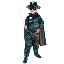 Disfraz Del Zorro Carnavalito Origianal